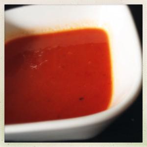 Overgebleven groentesoep